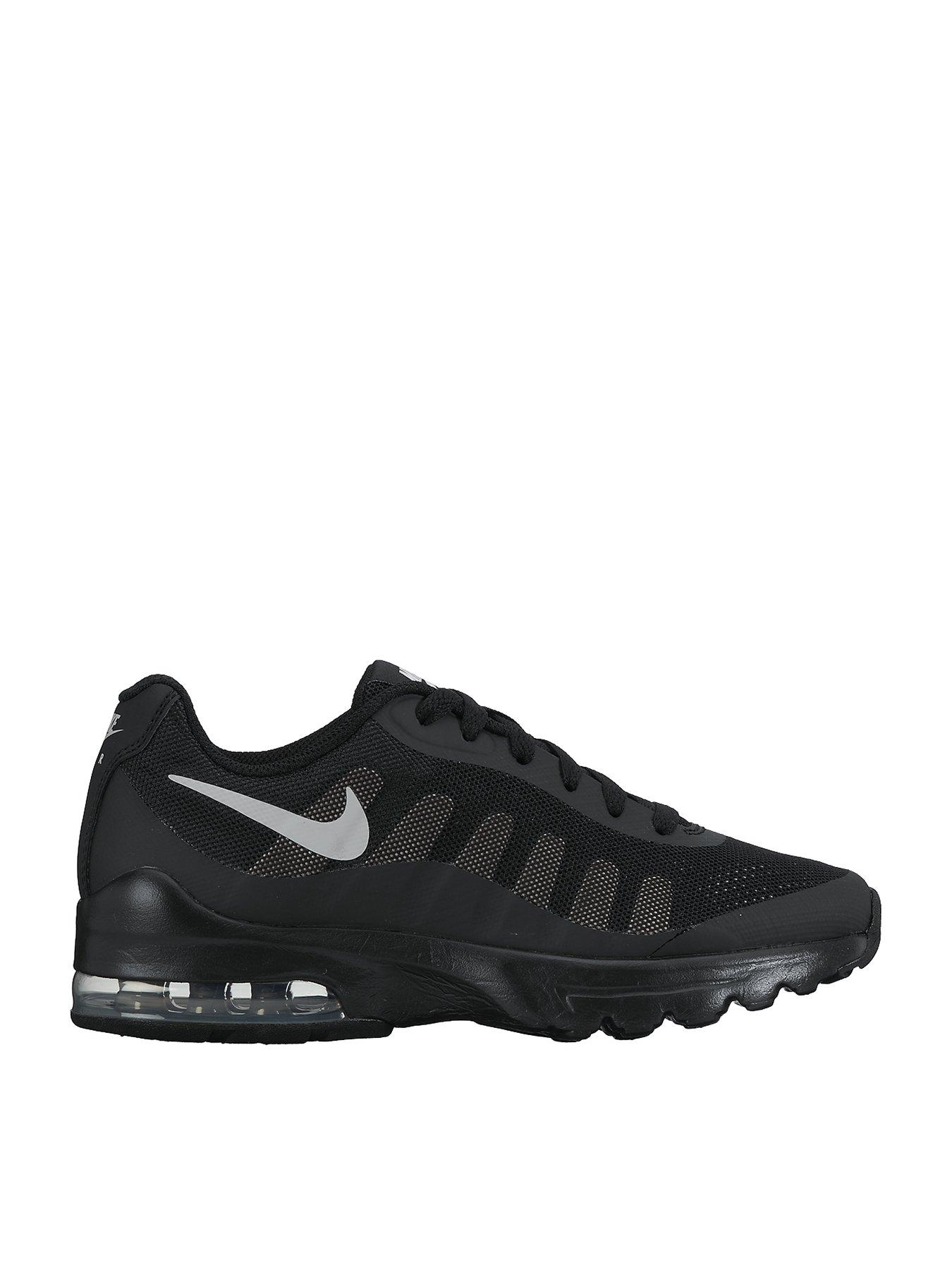 GS Nike Air Max Sequent 2 Black Size 4-6 Running Trainer Shoe RRP £55//