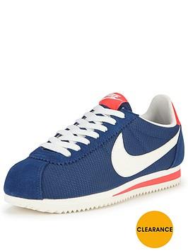 nike-classic-cortez-textile-fashion-trainers-blue