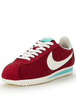 nike-nike-classic-cortez-textile-fashion-shoe-red