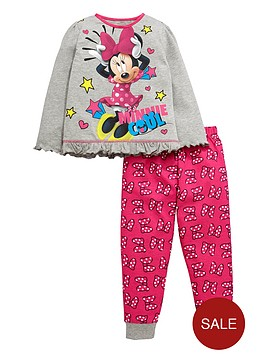 minnie-mouse-girls-frill-and-bow-pyjamas