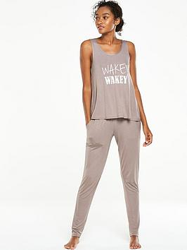 v-by-very-wakey-wakeynbspvests-pyjama-set