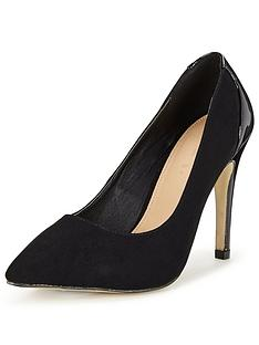 v-by-very-hanson-iminbspsuede-pointnbspcourt-with-patent-heel-black