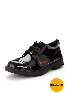 kickers-lachlynbsppatent-lace-up-shoes