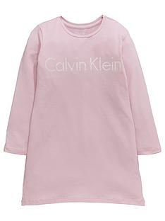 calvin-klein-ls-nightdress-pink