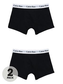 calvin-klein-boys-black-trunks-2-pack