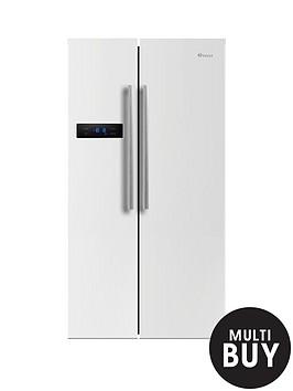 swan-sr70120wnbsp90cm-american-style-double-door-fridge-freezer-white