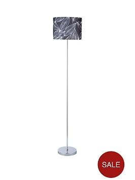 leaf-stencil-floor-lamp