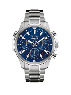bulova-blue-dial-chronograph-stainless-steel-bracelet-mens-watch