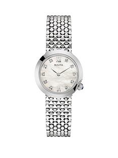 bulova-white-dial-stainless-steel-bracelet-ladies-watch