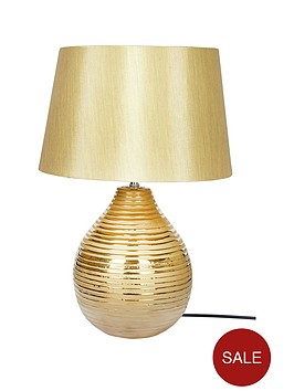 ribbed-table-lamp-in-gold