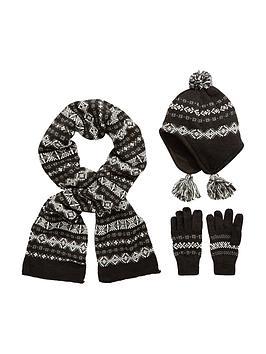 v-by-very-boys-fairisle-knitted-hat-scarfnbspand-gloves-set-3-piece