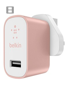 belkin-premium-home-charger-rose-gold