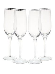 platinum-band-champagne-flutes-4-pc