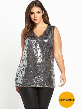 v-by-very-curve-embellished-front-jersey-back-v-neck-top