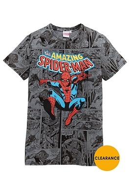 spiderman-boys-amazing-acid-wash-t-shirt-3-10yrs