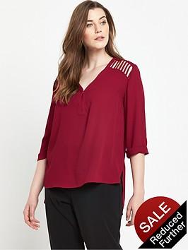 so-fabulous-lattice-detail-blouse