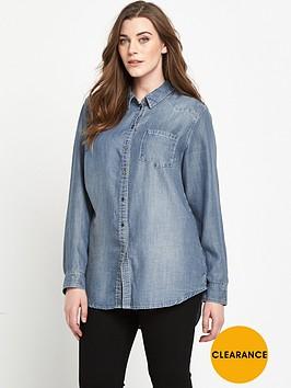 v-by-very-curve-longline-denim-shirt