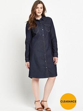 v-by-very-curve-denim-shirt-dress