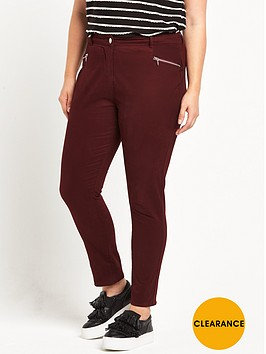 v-by-very-curve-coloured-twill-jean
