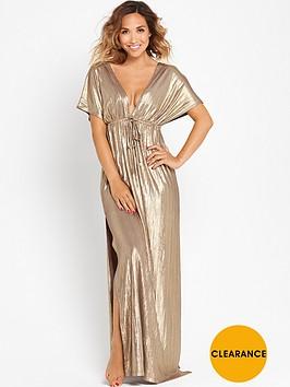 myleene-klass-batwing-metallic-kaftannbspmaxi-dress
