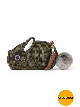 joe-browns-so-cute-bunny-handbag-green