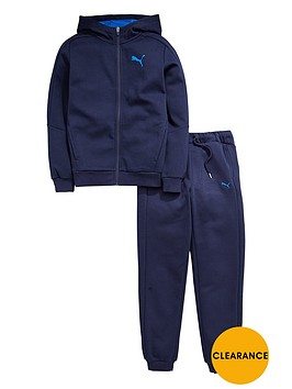 puma-older-boys-hero-fleece-tracksuit