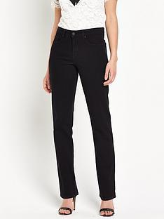 nydj-marilyn-high-waisted-straight-leg-jean-black