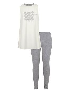 river-island-girls-wordy-tank-top-and-leggings-set