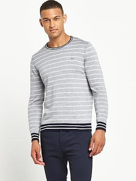lacoste-sportswear-striped-jumper