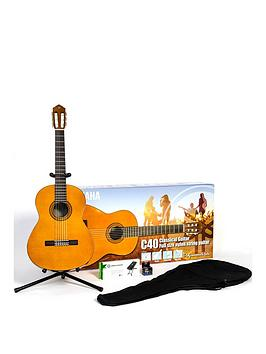 yamaha-c40ii-classical-guitar-performance-bundle