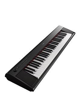 yamaha-np12-piaggero-home-keyboard-black