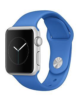 apple-watch-sportnbsp38mm-silver-aluminium-case-with-royal-blue-sport-band