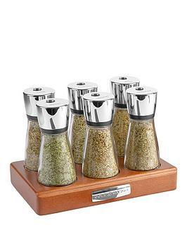 cole-mason-cole-amp-mason-croft-6-jar-filled-wooden-herb-amp-spice-rack