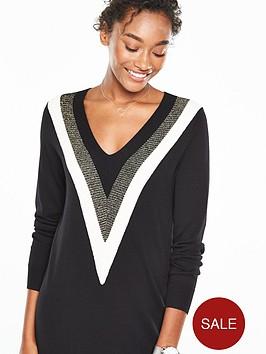 v-by-very-v-neck-colour-block-tunic