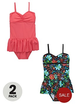 v-by-very-girls-frill-floral-swimsuit-2-pack