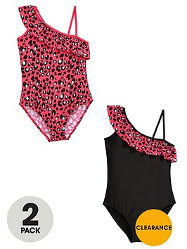 v-by-very-girls-frill-leopard-swimsuits-2-pack