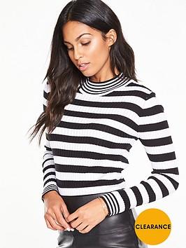 v-by-very-skinny-rib-striped-jumpernbsp