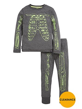 animal-2pce-skelleton-pj-set