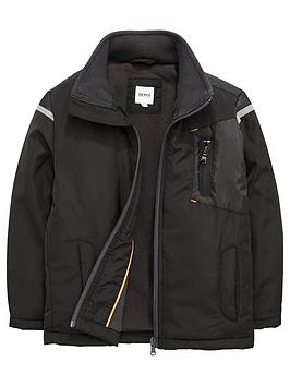 boss-fleece-lined-jacket-windbreaker