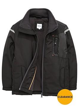 boss-fleece-lined-jacket-windbreaker