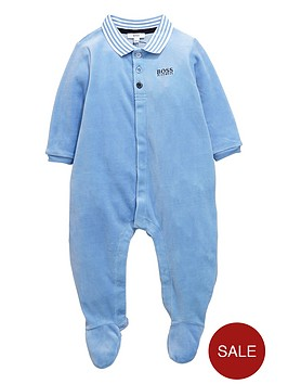 boss-baby-boys-velour-sleepsuitnbspwith-gift-box