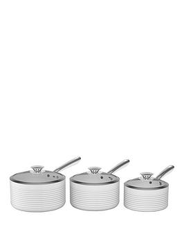 tower-linear-3-piece-ceramic-coated-pan-set-white