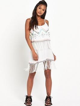 river-island-print-fringe-dress