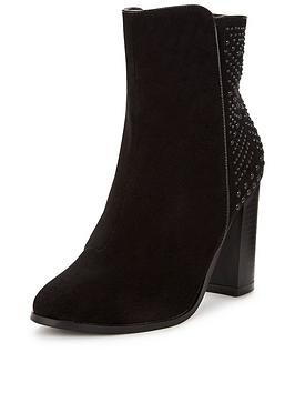 v-by-very-ella-studded-heel-ankle-boots-black