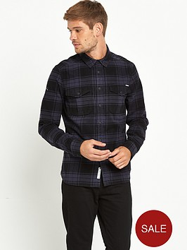 superdry-rookie-mens-plaid-shirt-forest-black