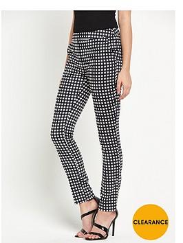 v-by-very-gingham-skinny-trouser