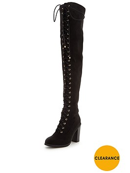 v-by-very-ruby-lace-up-the-front-over-the-knee-boot