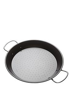 world-of-flavours-world-of-flavours-mediterranean-non-stick-paella-pan-32cm
