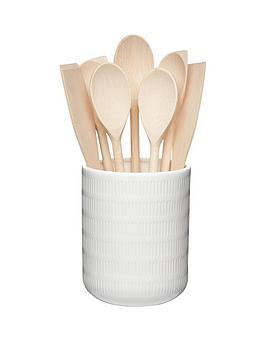 calico-porcelain-utensil-pot