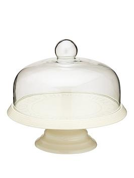 classic-collection-29cm-ceramic-cake-stand-with-domed-glass-lid